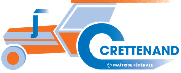 Crettenand machines agricoles - logo